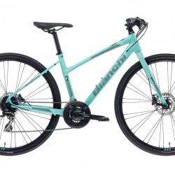 Bianchi C Sport 2 Dama Hybrid Bike