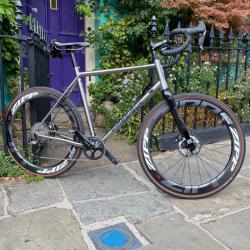 Kinesis Tripster Titanium Gravel Bike Custom Build