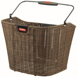 Rixen & Kaul Structura EF Front Basket 0383KLIK: Brown with Adapter